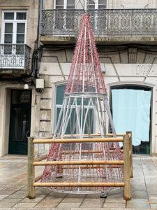 Árbol de luces de Vigo