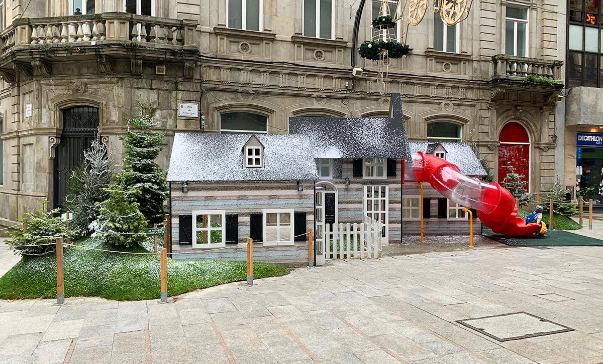 Poblado navideño Vigo