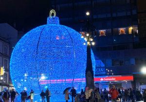Bola Navidad Gigante