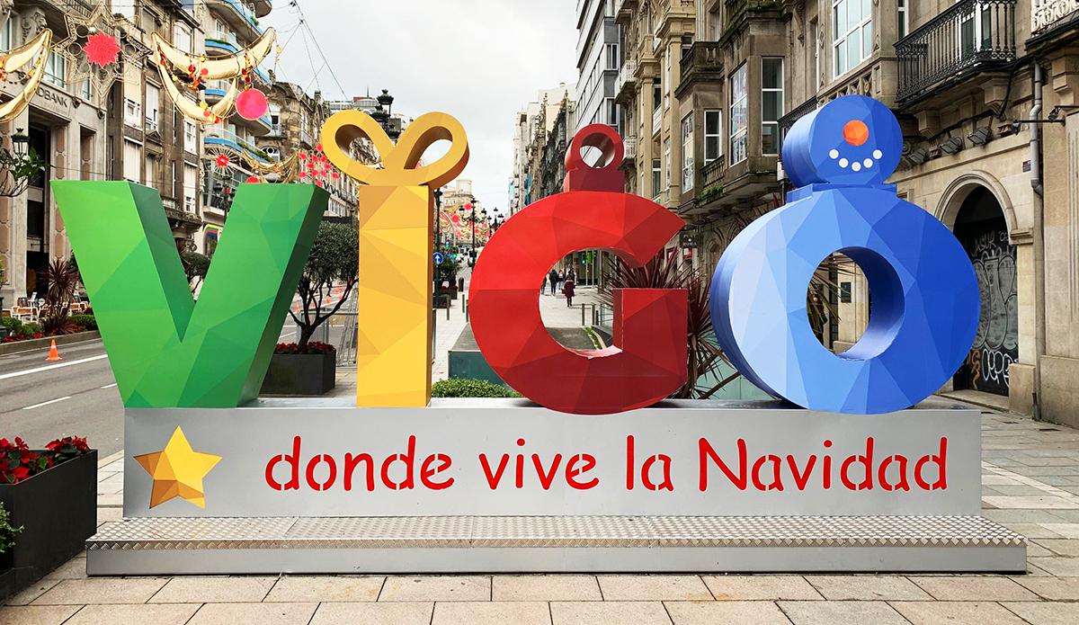 Photocall letras Vigo