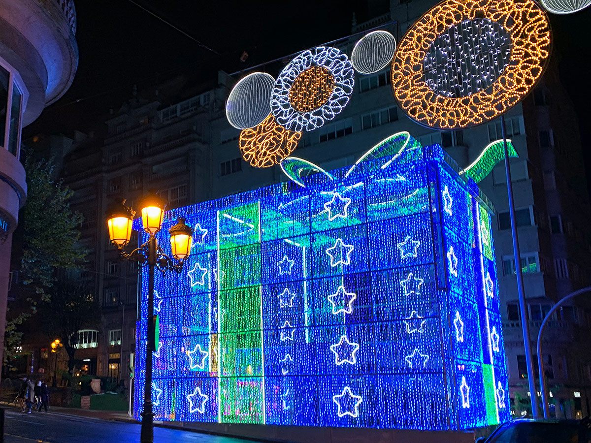 Regalo de Navidad Gigante Vigo