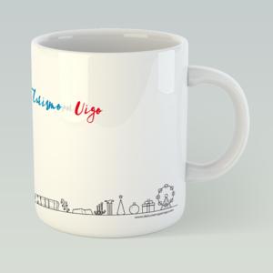 Taza Skyline Vigo 2019